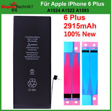 Ersatz Akku für Original Apple iPhone 6 Plus Batterie Battery 2915mAh APN 0Cycle