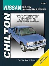 Chilton Repair Manual: Nissan Pick-ups Frontier Xterra Pathfinder 1998-2004