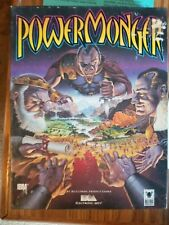 "PowerMonger | IBM PC EA Electronic Arts/Bullfrog 3.5"" CIB + Warranty Card"