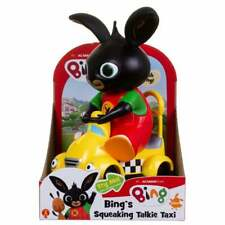 Bing's Squeaking 18cm Talkie Taxi Car Friction Vehicle with Squeak Sound