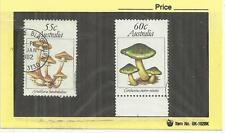 Australia 1981 Fungi 55c & 60c Values Fine Used