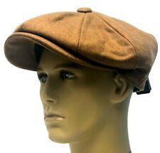 Peaky Blinders Hat Newsboy Gatsby Cap Beige Flat Baker Boy Bakerboy 60% Wool