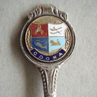 Cooma Pitcher EPNS A1 Melb Souvenir Spoon Teaspoon (T85)