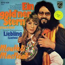 "7"" MOUTH & MAGGIE MACNEAL Ein goldner Stern (I See A Star) ESC Grand Prix D 1974"