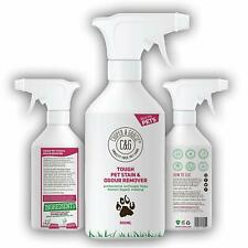 PET STAIN URINE & ODOUR REMOVER 500ML ORGANIC NATURAL ENZYME CLEANER CATS & DOGS