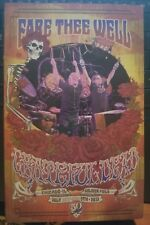 Grateful Dead 2015 Fare Thee Well Chicago Tour Pamphlet Program July 5 2015