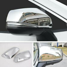 For 2020 2021 Toyota Highlander ABS Chrome Car Door Side Mirror Cover Trim 2PCS