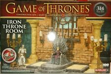 New in box GAME OF THRONES IRON THRONE ROOM CONSTRUCTION SET 314 PCS