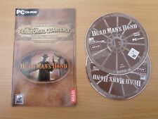 DEAD MAN'S HAND - DISC AND MANUAL ONLY - PC CD ROM GAME
