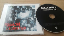 Madonna   'Celebration'   VERY RARE 2009 LTD 1 TRK PROMO CD - PRO16811