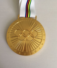 Pierre De Coubertin Medal Olympic games With Ribbon!