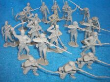 CLASSIC TOY SOLDIERS/MARX set of Confederate 1/32 Soldiers 22 figures (gray)