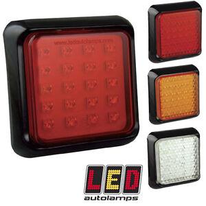 LED Autolamps 80FME Multivolt 12v / 24v Fog - Trailer Caravan Light