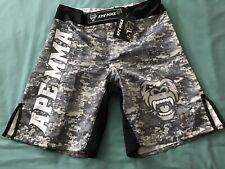 New Ape Mma Digital Camo Print Fight Shorts Men'S 34� Waist. Nwt
