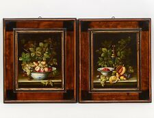 TWO OIL ON METAL PAINTINGS Lot 55