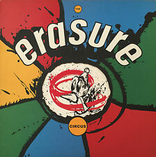 ERASURE Circus LP with Die Cast Cover & Inner sleeve. 1987