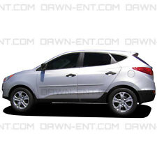 FOR HYUNDAI TUCSON ALL MODELS Painted Body Side Mouldings 3M Tape Trim 2007-2015