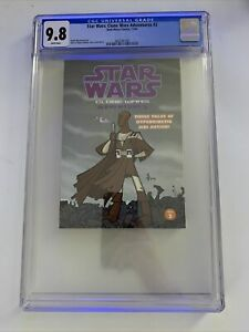 Star Wars: Clone Wars Adventures #2 - CGC 9.8 - Only Copy on Census
