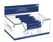 Book Covering Film - Transparent - Stationery - 4 Rolls