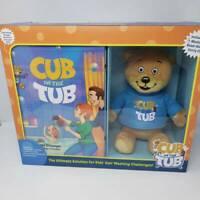 Cub In The Tub: The Hair Washing Superhero Plush Teddy Bear Makes Bath Time Fun