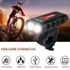Ultra-Bright Mountain Bike Front Light T6 LED USB Rechargeable Cycling Head Lamp