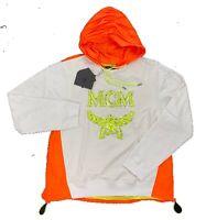 $800 MCM White Cotton Hoodie Sweater Size US Large, EU 52