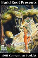 CAVEWOMAN CONVENTION BOOK - HEROES CON 2015 -MATURE- SIGNED BY BUDD ROOT!