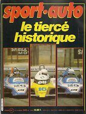 SPORT AUTO 218 1980 24H DAYTONA GP AFRIQUE DU SUD RALLYE DE SUEDE PORSCHE 928 S