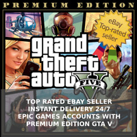 ⭐ Grand Theft Auto V GTA 5 PC Premium Edition (Epic Games) - TOP RATED - INSTANT