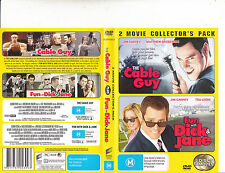 The Cable Guy-1996/Fun With Dick And Jane-2005-Jim Carrey-2 Disc-Movie-DVD