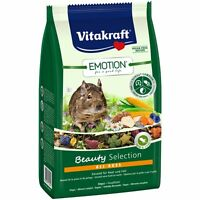 Vitakraft Emotion Beauty All Ages,Degu 600g Comida Roedor degu