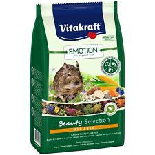 VITAKRAFT Emotion Beauty All Ages, Degu - 600g - Food Rodents Degu Main Food