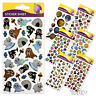 STICKER SHEET ~ Craft Reward Decorate Letters Presents Educational Kids Party