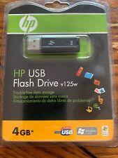 Memory Stick hp usb flash drive 4gb v125w free shipping