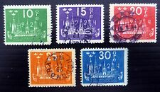 SWEDEN 1924 U.P.U. (5) SG147 to 151 Cat £73 Fine/Used SEE BELOW NC501