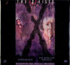 The X FILES LaserDisc  Irresistible, Die Hand Die Verletzt BRAND NEW! SEALED!!