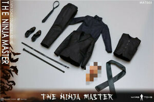 """Mars Toys MAT003 1/6 The Ninja Master Liam Neeson Clothes Suit Props For 12""""Body"""