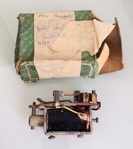 Vintage LUCAS - 1934 SINGER Head Lamp Solenoid in original box.