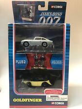 Corgi James Bond 007 Goldfinger TY95902 Aston Martin DB5 & Rolls Royce & Figures