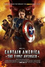 "Marvel CAPTAIN AMERICA 2011 Original Version D DS 2 Sided 27x40"" Movie Poster"