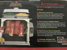Showtime Deluxe Accessory Package for Dual Rotisserie & BBQ Oven, New