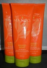 California Mango Mend Treatment Balm 8oz (3 pack) Repairs Dry Hands & Feet