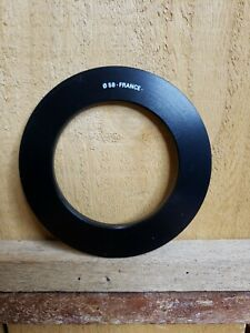 Genuine Cokin P Series 58mm Adapter Ring P458 Made in France Thread to P Series