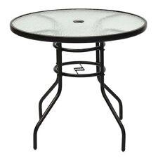 Glass Round Patio Garden Tables Ebay
