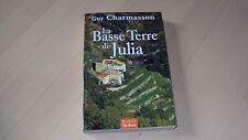 livre  LES BASSE TERRE DE JULIA de Guy CHARMASSON