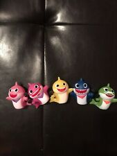 Baby Shark Lot Of 5 Figures New Daddy Mommy Grandpa Grandma