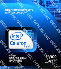 Intel BX80571E3300 SLGU4 Celeron Processor E3300 1M Cache, 2.50 GHz, 800 MHz FSB