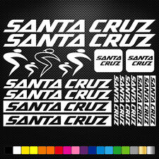Santa Cruz Vinyl Decal Stickers Sheet Bike Frame Cycle Cycling Bicycle Mtb Road