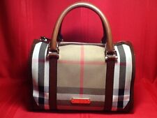 Burberry Bridle House Check Bowling Bag
