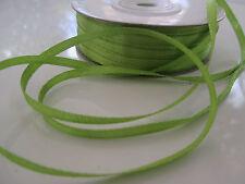 18 METER Satinband 6mm Farbe: Olivgrün Borte Dekoband Hochzeitband
